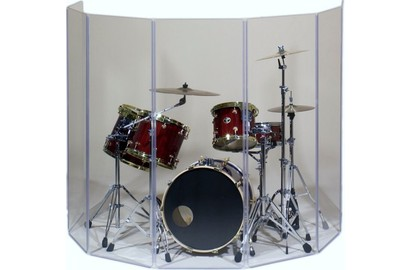 Аренда Drum Shield. Аренда звукоизоляционного экрана для барабанов.